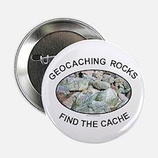 "Geocaching Rocks 2.25"" Button (100 pack)"