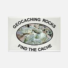 Geocaching Rocks Rectangle Magnet (10 pack)