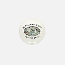 Geocaching Rocks Mini Button (100 pack)