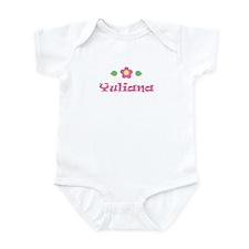 "Pink Daisy - ""Yuliana"" Infant Bodysuit"