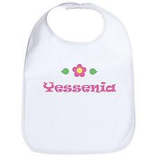 """Pink Daisy - """"Yessenia"""" Bib"""