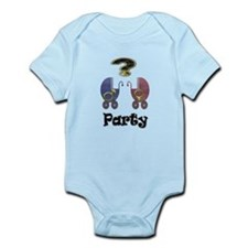Gender reveal party Body Suit