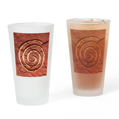 THE JOURNEY Drinking Glass
