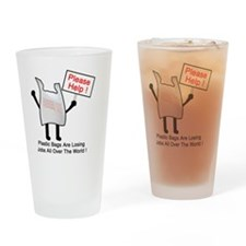 plastic out of work Drinking Glass