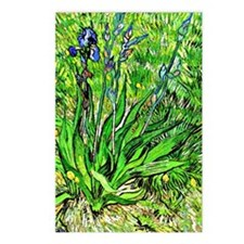 Van Gogh - The Iris Postcards (Package of 8)