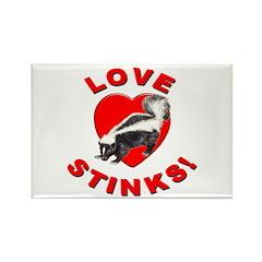 Love Stinks! Rectangle Magnet