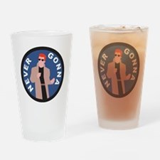 Rickroll Drinking Glass