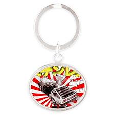 Japan Shirt_for bag-11-17-07 copy2 Oval Keychain