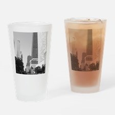 bw michiagnavenue Drinking Glass
