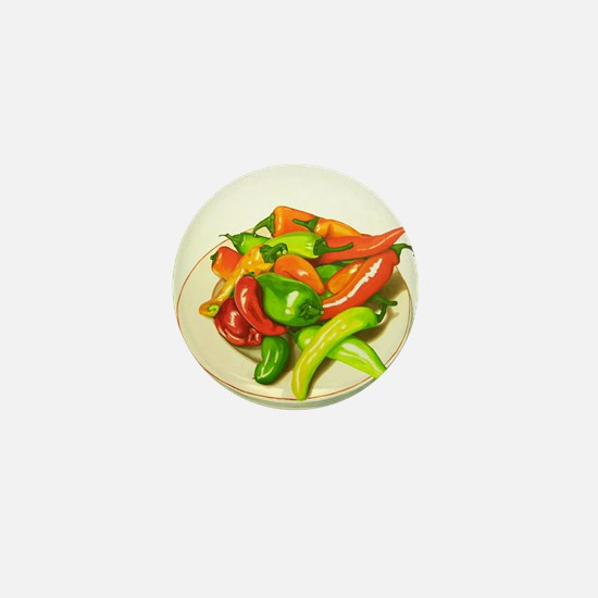 Chiles Mini Button