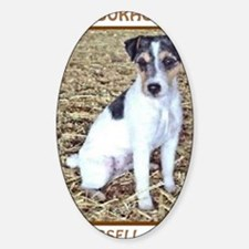 JACK RUSSELL TRAITS Sticker (Oval)