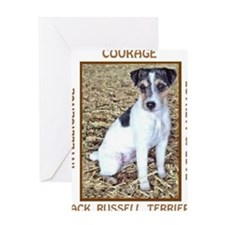 JACK RUSSELL TRAITS Greeting Card
