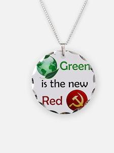 greennewredshirt Necklace