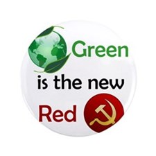 "greennewredshirt 3.5"" Button"