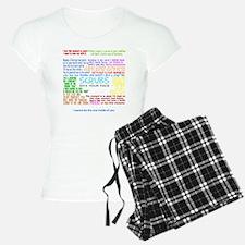 scrubscollagewh Pajamas