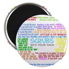scrubscollagewh Magnet