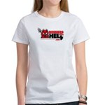 Dinners From Hell Women's White T-Shirt