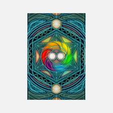 Reconcilliation-Mandala Rectangle Magnet
