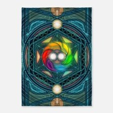 Reconcilliation-Mandala 5'x7'Area Rug