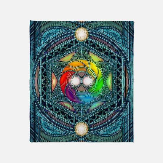 Reconcilliation-Mandala Throw Blanket
