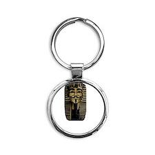 Guy Tut Round Keychain