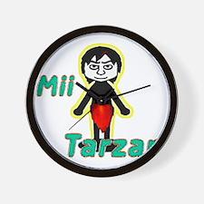 tarzanmii1w2a Wall Clock