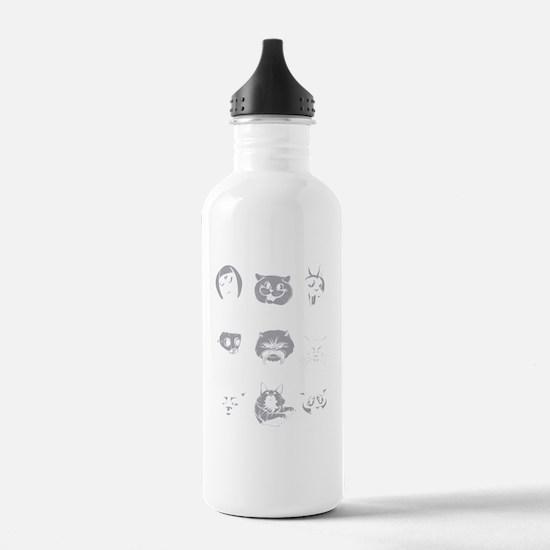 LOLcat taxonomy Water Bottle