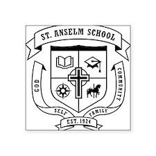 "St_Anselm_logo-3 Square Sticker 3"" x 3"""
