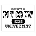 Pit Crew University Small Poster