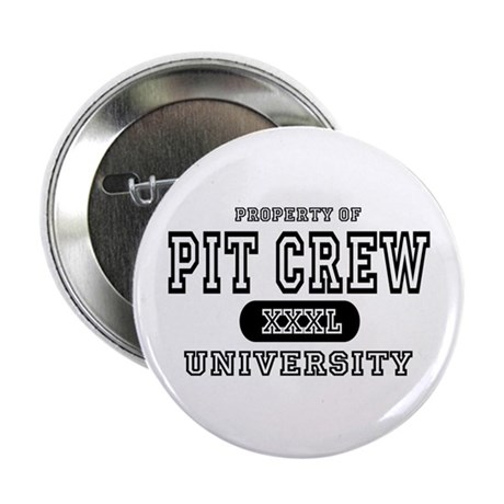 "Pit Crew University 2.25"" Button (10 pack)"