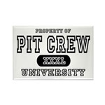 Pit Crew University Rectangle Magnet (10 pack)