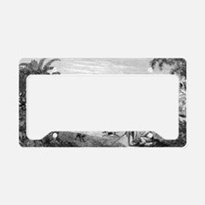 Ewa From Honolulu by Pearson License Plate Holder
