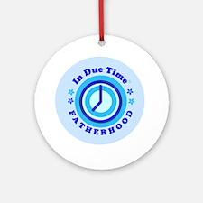 I.D.T.-Fatherhood.magnet-round Round Ornament