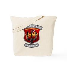 USSsaratoga10 Tote Bag