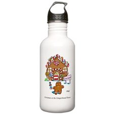 XMas_Gingerbread_House Water Bottle