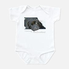 I love my Newfoundland puppy Infant Bodysuit