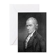 Alexander Hamilton by E Prudhomme af Greeting Card