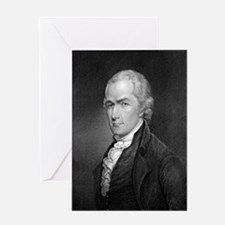 Alexander Hamilton by E Prudhomme af Greeting Card