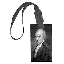 Alexander Hamilton by E Prudhomm Luggage Tag