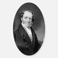 Martin Van Buren by E Wellmore afte Decal