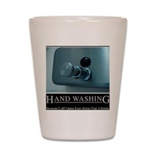 hand-washing-humor-infection Shot Glass