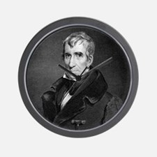 Majr Genl William Henry Harrison by RW  Wall Clock