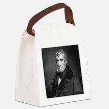 Majr Genl William Henry Harrison  Canvas Lunch Bag
