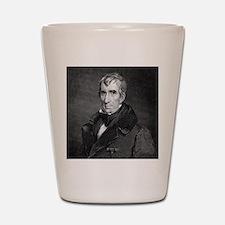 Majr Genl William Henry Harrison by RW  Shot Glass