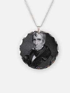 Majr Genl William Henry Harr Necklace Circle Charm