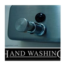 hand-washing-humor-infection-lg2 Tile Coaster
