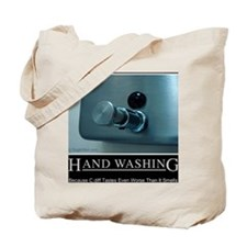 hand-washing-humor-infection-lg2 Tote Bag
