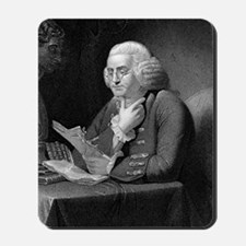Benjamin Franklin by TB Welch after Mart Mousepad