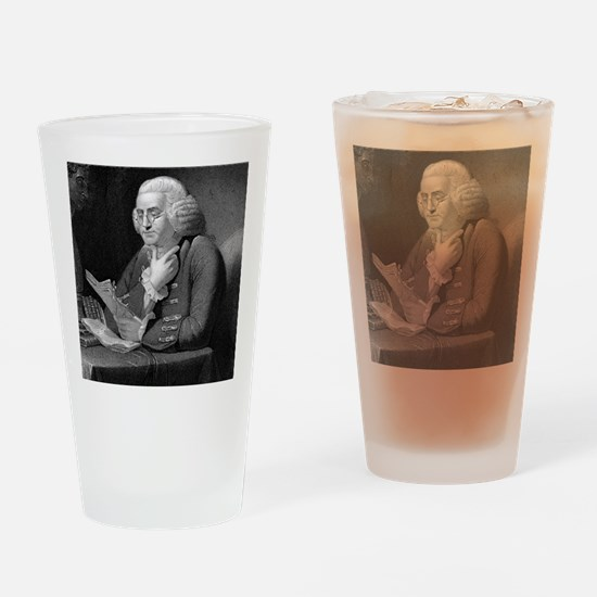 Benjamin Franklin by TB Welch after Drinking Glass