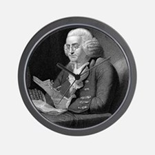 Benjamin Franklin by TB Welch after Mar Wall Clock